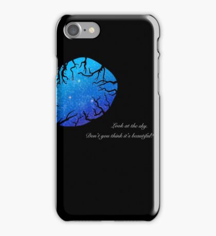 Look at the sky. iPhone Case/Skin