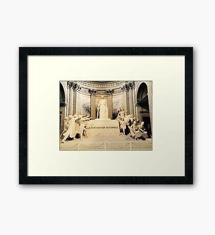 La Convention Nationale Framed Print