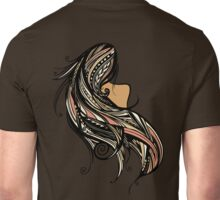 Tapa Hair - Peach Unisex T-Shirt