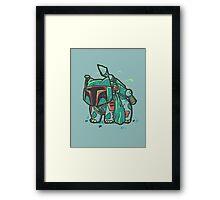 Bulba Fett Framed Print