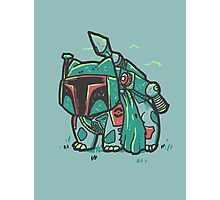Bulba Fett Photographic Print