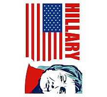 US Senator Hillary Rodham Clinton Photographic Print