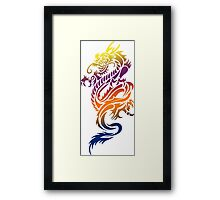 Dragon 578 Framed Print