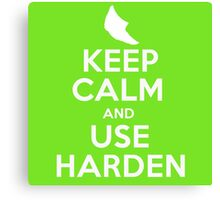 Pokemon - Keep Calm and Use Harden - Metapod Design Canvas Print