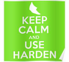 Pokemon - Keep Calm and Use Harden - Metapod Design Poster