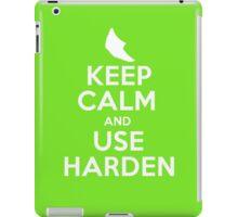 Pokemon - Keep Calm and Use Harden - Metapod Design iPad Case/Skin