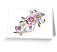Flover 576 Greeting Card