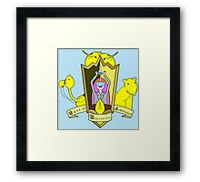 Adventure Time Lemongrabe Framed Print