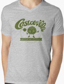 CASTROVILLE ARTICHOKE FESTIVAL - Dustin's Shirt Stranger Things Mens V-Neck T-Shirt