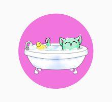 What a Weird Bathing Kitty Unisex T-Shirt