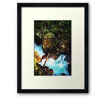 Glacier Fairies Framed Print