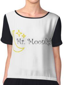 Mr Moonlight The Beatles Song Lyrics 60s Rock Music Lennon Chiffon Top