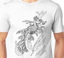 Floating Foliage Horse  Unisex T-Shirt