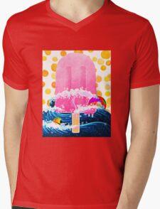 Summer Popsicle Mens V-Neck T-Shirt