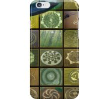 Crop circles iPhone Case/Skin