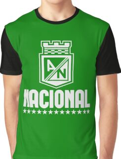 Atletico Nacional Colombia Medellin Futbol Soccer - Camiseta Postobon Graphic T-Shirt