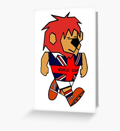 World Cup Willie Greeting Card