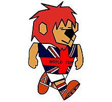 World Cup Willie Photographic Print