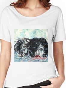 raven Girl Women's Relaxed Fit T-Shirt