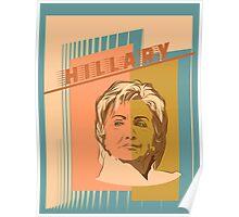 US Senator Hillary Rodham Clinton Poster