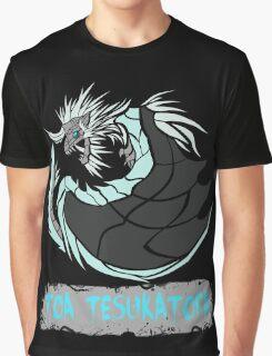 The Circular Frozen King Dragon Graphic T-Shirt