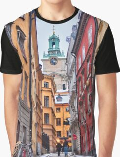 Lost in Gamla Stan Graphic T-Shirt