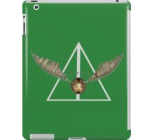 Harry Potter Snitch Slytherin iPad Case/Skin