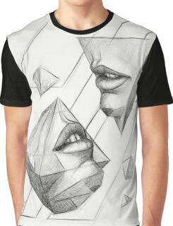 Geometric Surrealism Graphic T-Shirt