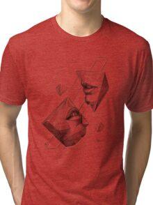 Geometric Surrealism Tri-blend T-Shirt