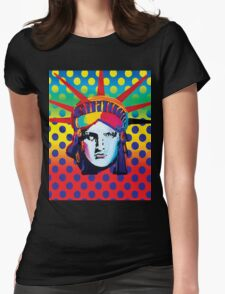 Statue of liberty usa Womens Fitted T-Shirt