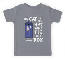 The Cat in the Hat and a Tie in a Box Kids Tee