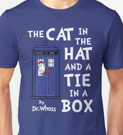 The Cat in the Hat and a Tie in a Box Unisex T-Shirt