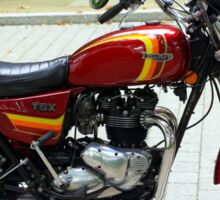 Triumph T140 TSX Sticker