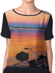 Rainbow sunset Chiffon Top