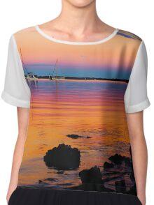 Rainbow sunset Chiffon Top
