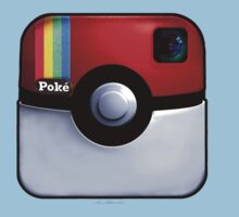 Pokegram - An Instagram & Pokemon Mash App Kids Tee
