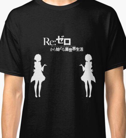Re: Zero kara Hajimeru Isekai Seikatsu (White Edition) Classic T-Shirt