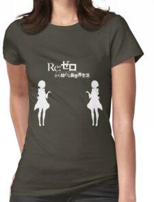 Re: Zero kara Hajimeru Isekai Seikatsu (White Edition) Womens Fitted T-Shirt