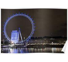 London Eye - England Poster