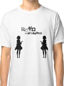 Re: Zero kara Hajimeru Isekai Seikatsu (Black Edition) Classic T-Shirt