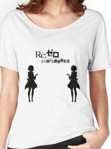 Re: Zero kara Hajimeru Isekai Seikatsu (Black Edition) Women's Relaxed Fit T-Shirt