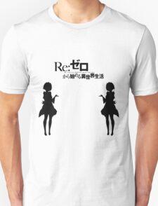 Re: Zero kara Hajimeru Isekai Seikatsu (Black Edition) Unisex T-Shirt