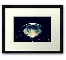 WORLD OF GLAS Framed Print