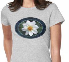 She Wore Blue Velvet ~ Dahlia Womens Fitted T-Shirt