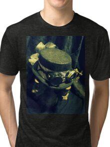Steampunk Ladies Hat 1.2 Tri-blend T-Shirt