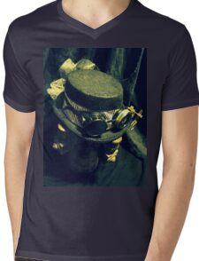 Steampunk Ladies Hat 1.2 Mens V-Neck T-Shirt