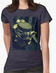 Steampunk Ladies Hat 1.2 Womens Fitted T-Shirt