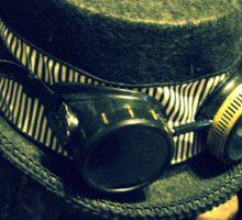 Steampunk Ladies Hat 1.2 Sticker