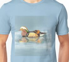 Wood Duck Watercolor Bird Unisex T-Shirt