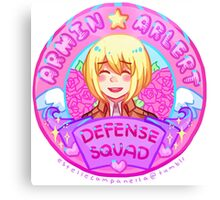 Armin Arlert Defense Squad Merch Canvas Print